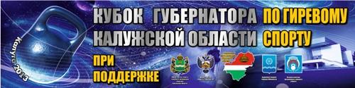 Кубок губернатора Калужской области 2013
