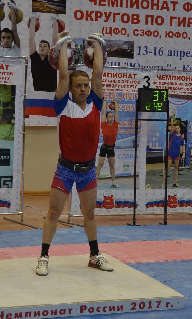 Чемпионаты федеральных округов 2017. Гиревой спорт